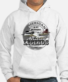A-37 Dragonfly Aircraft Hoodie