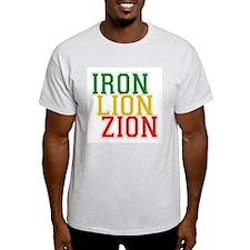 Iron Lion Zion Ash Grey T-Shirt