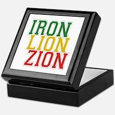 Iron Lion Zion Keepsake Box