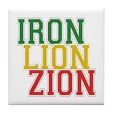 Iron Lion Zion Tile Coaster