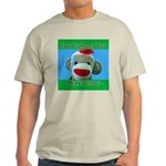 Hugged Monkey? Ash Grey T-Shirt