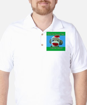 Hugged Monkey? Golf Shirt