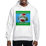 Hugged Monkey? Hooded Sweatshirt