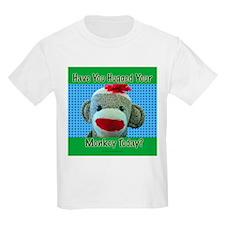 Hugged Monkey? Kids T-Shirt
