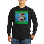 Hugged Monkey? Long Sleeve Dark T-Shirt