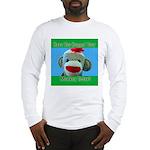 Hugged Monkey? Long Sleeve T-Shirt
