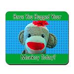 Hugged Monkey? Mousepad