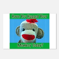 Hugged Monkey? Postcards (Package of 8)