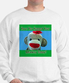Hugged Monkey? Sweatshirt