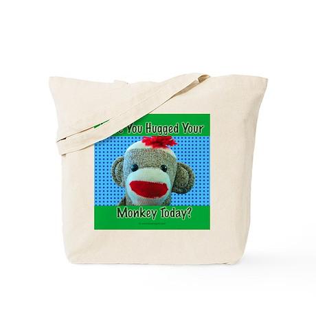 Hugged Monkey? Tote Bag