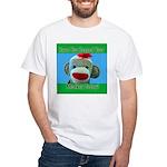 Hugged Monkey? White T-Shirt
