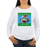 Hugged Monkey? Women's Long Sleeve T-Shirt