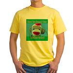 Hugged Monkey? Yellow T-Shirt