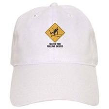 Watch out for Falling Skiers Baseball Cap
