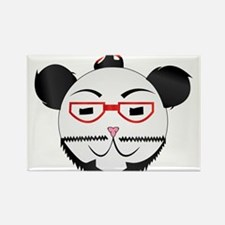 Retro Panda Magnets