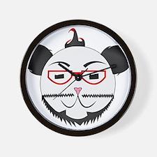 Retro Panda Wall Clock