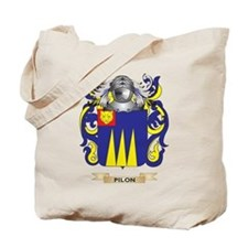 Pilon Coat of Arms (Family Crest) Tote Bag
