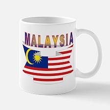 Malaysia flag ribbon Mug