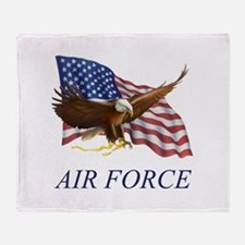 AUSAIRFORCE.png Throw Blanket