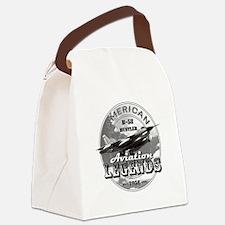 B-58 Hustler Bomber Canvas Lunch Bag