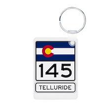 Telluride - Think Snow! Keychains