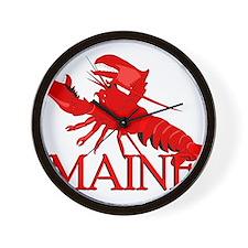 Maine Lobster Wall Clock