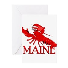 Maine Lobster Greeting Cards (Pk of 10)