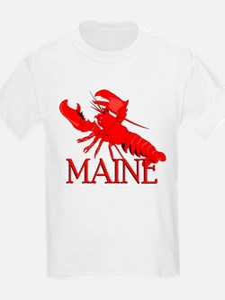 Maine Lobster Kids T-Shirt