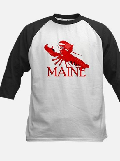 Maine Lobster Kids Baseball Jersey