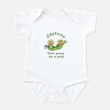Sisters-Blonde Infant Bodysuit