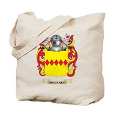 Pinckney Coat of Arms (Family Crest) Tote Bag
