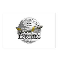 F-86 Sabre Postcards (Package of 8)