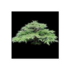 Fractal Bonsai Tree Sticker
