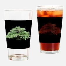 Fractal Bonsai Tree Drinking Glass