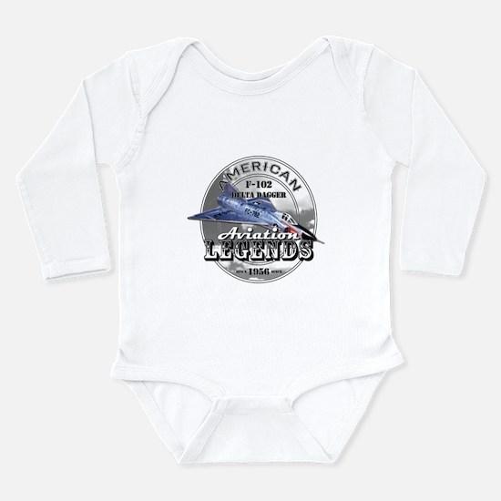 F-102 Delta Dagger Long Sleeve Infant Bodysuit
