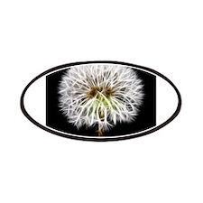 White Dandelion Flower Plant Patches
