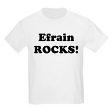 Efrain Rocks! Kids T-Shirt