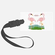Flamingo Love Luggage Tag
