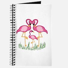 So Sweet Flamingos Journal
