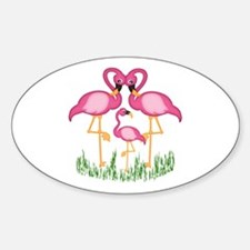 So Sweet Flamingos Decal