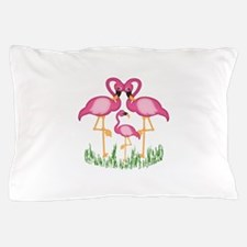So Sweet Flamingos Pillow Case