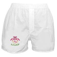 So Sweet Flamingos Boxer Shorts