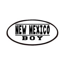 New Mexico Boy Designs Patches