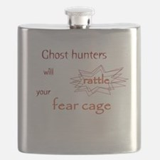 Ghost Hunters Rattle Fear Cages Flask