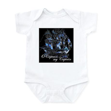 O CAPTAIN, MY CAPTAIN - Infant Bodysuit