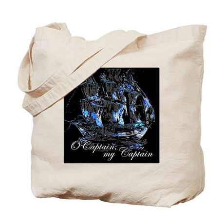 O CAPTAIN, MY CAPTAIN - Tote Bag