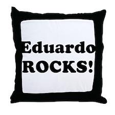 Eduardo Rocks! Throw Pillow
