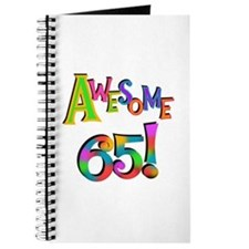 Awesome 65 Birthday Journal