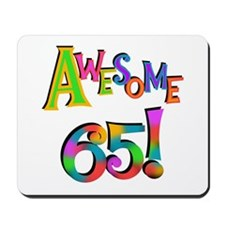 Awesome 65 Birthday Mousepad