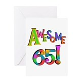 65th birthday Greeting Cards